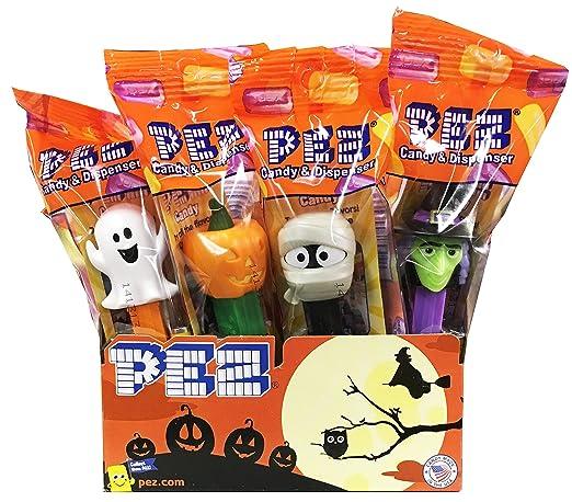 Dispensadores de caramelos para Halloween Trick o Treat PEZ ...