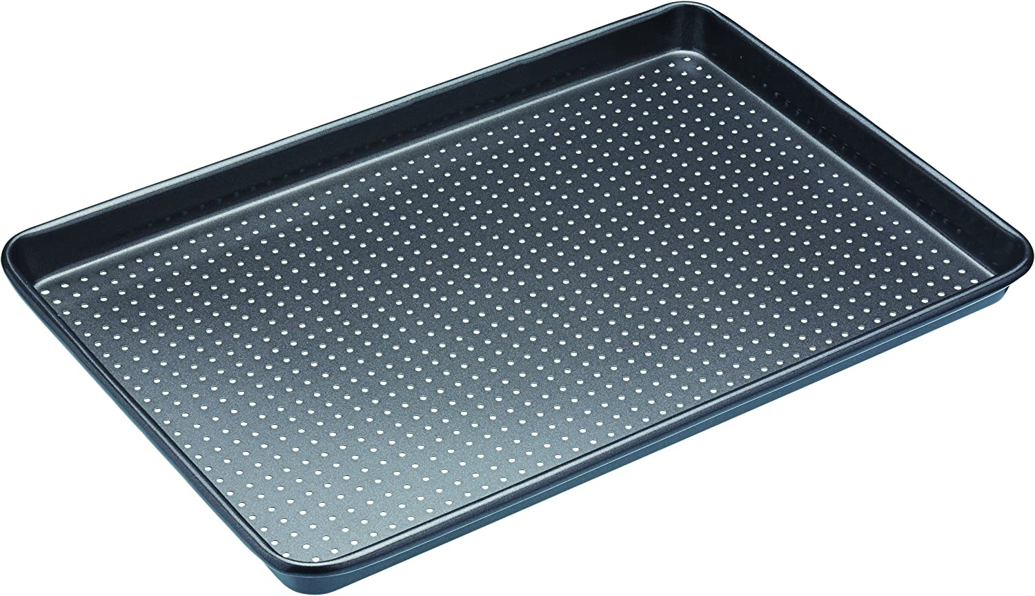 Kitchen craft KCMCCB3 - Molde perforado crusty bake, 39cm x 27cm x 2cm