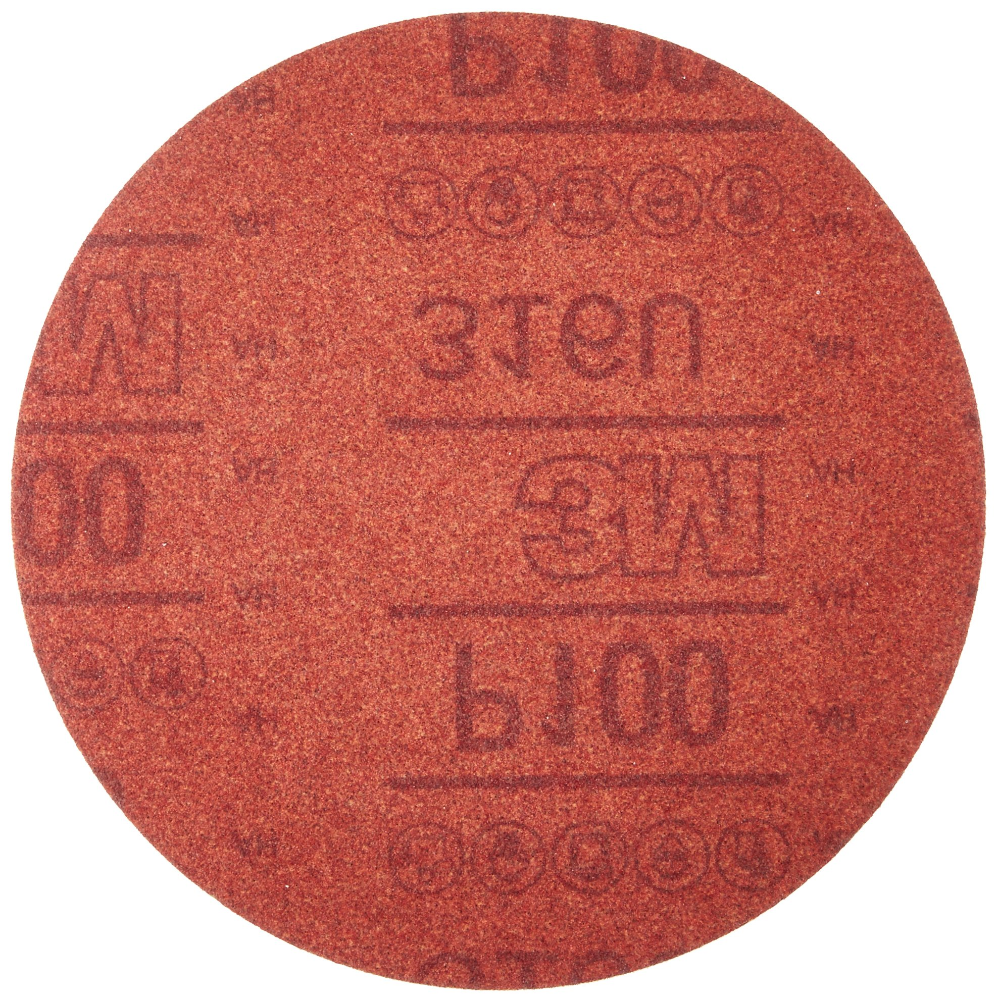 3M 01225 Hookit Red 6'' P100 Grit Abrasive Disc by 3M (Image #1)