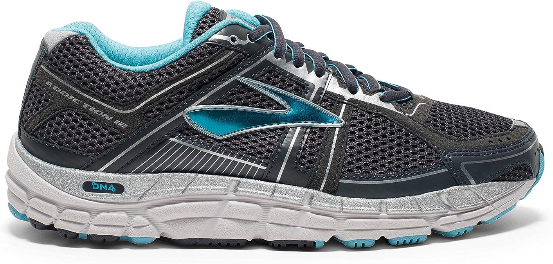 Brooks Addiction 12 Womens Zapatillas para Correr (2E Width) - 44.5: Amazon.es: Zapatos y complementos