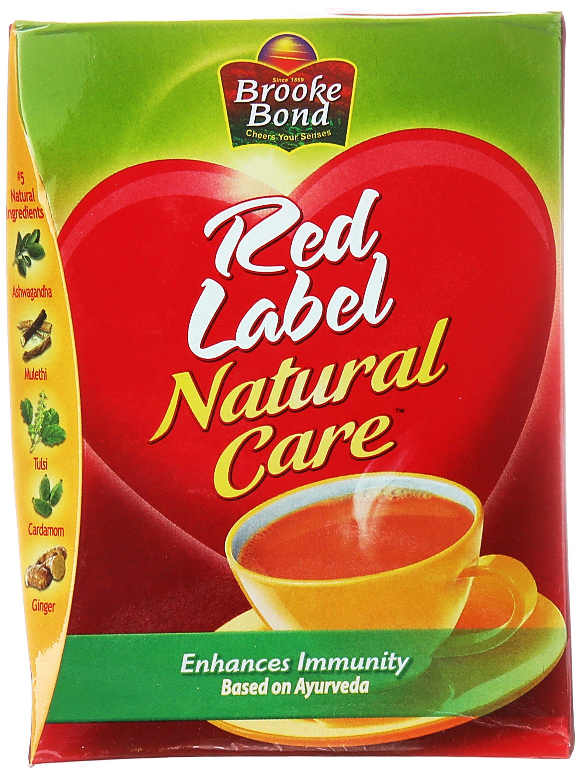 Brooke Bond Red Label Natural Care (5 Ayurvedic Ingredients) 250gms