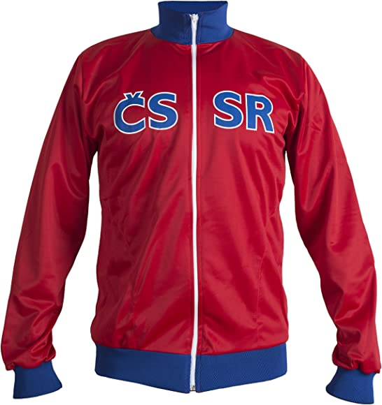 JL Sport Era Comunista Checoslovaquia 1968 Chaqueta Retro Vintage ...