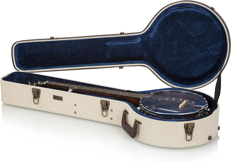 Gator Cases GW-JM-BANJO-XL funda para guitarra, banjo, Beige: Amazon.es: Instrumentos musicales