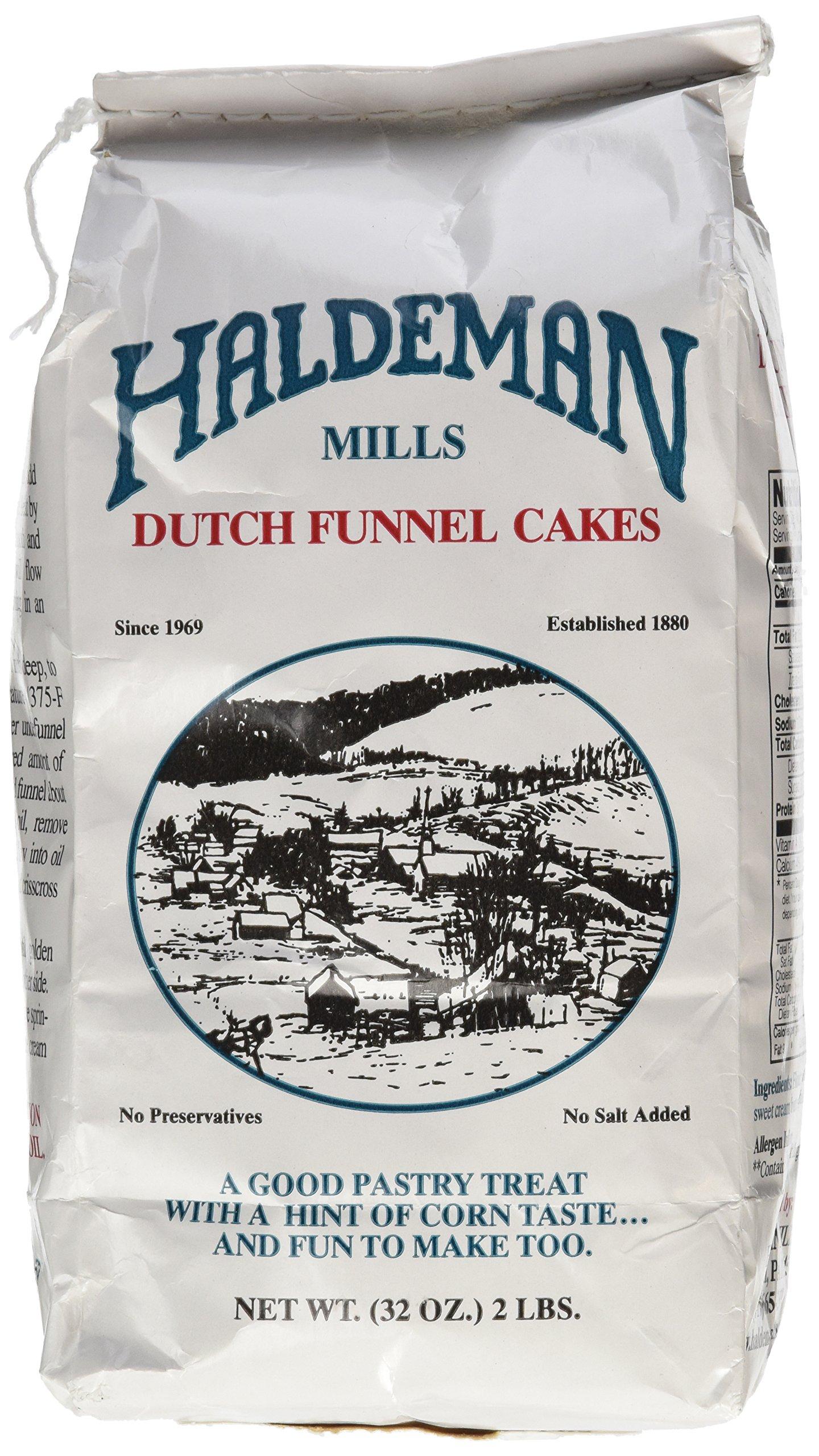 Haldeman Mills Dutch Funnel Cake Mix, 32 Ounce (Pack of 1)