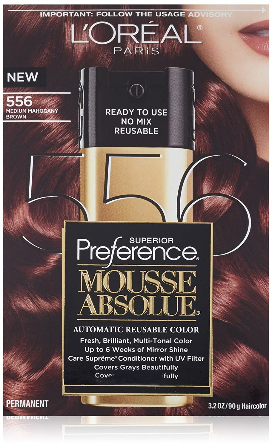 How It Works: L'Oreal Paris Preference MousseAbsolue