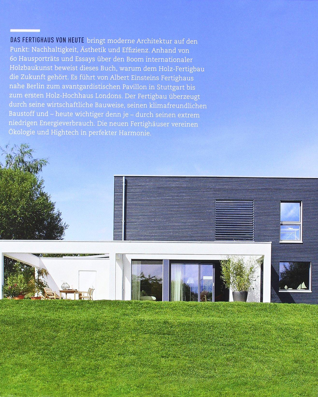 Fertighaus moderne architektur  Das Fertighaus-Buch: moderne Architektur - nachhaltig gebaut ...