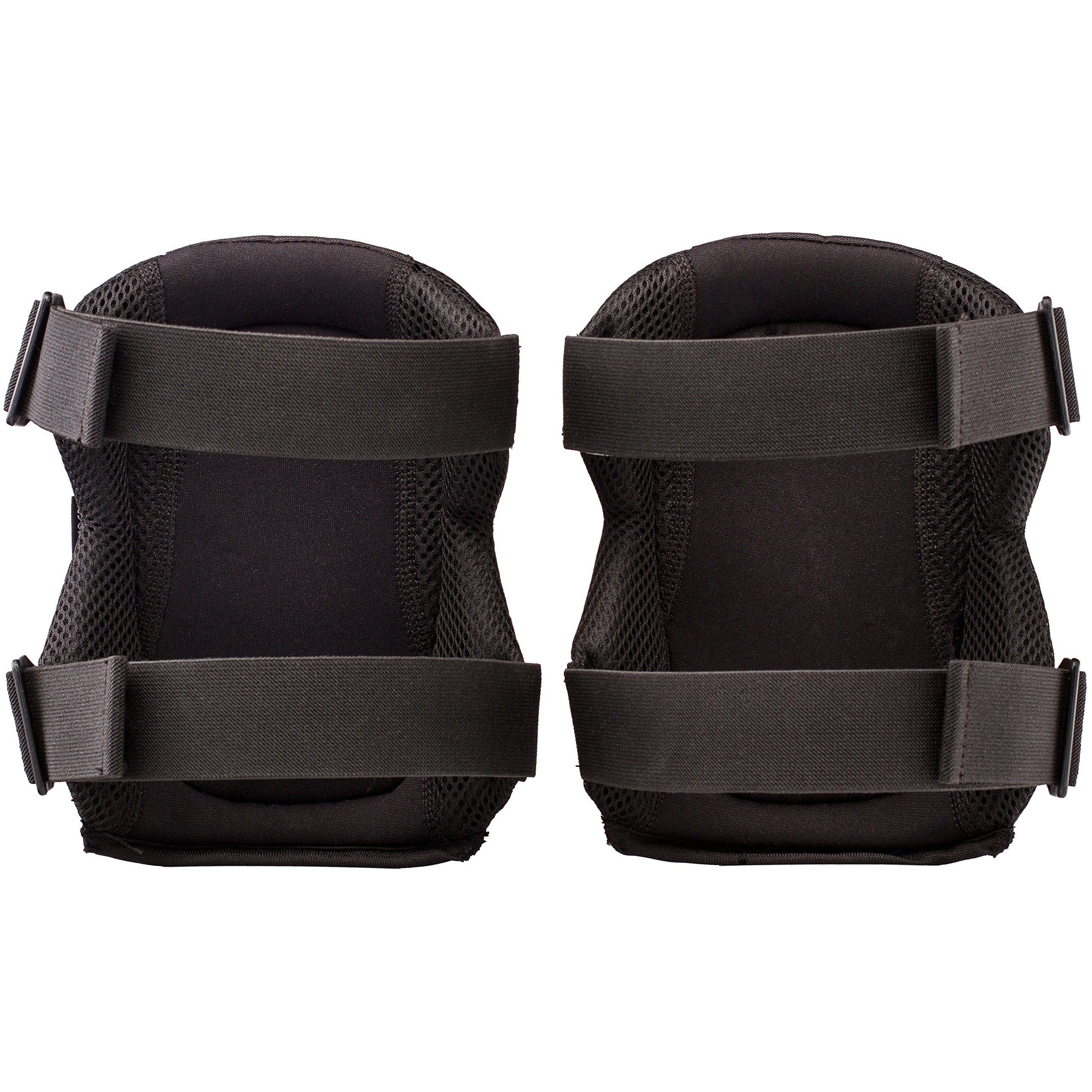 NoCry Professional Knee Pads with Heavy Duty Foam Padding and Comfortable Gel Cushion, Strong Double Straps and Adjustable Easy-Fix Clips by NoCry (Image #7)