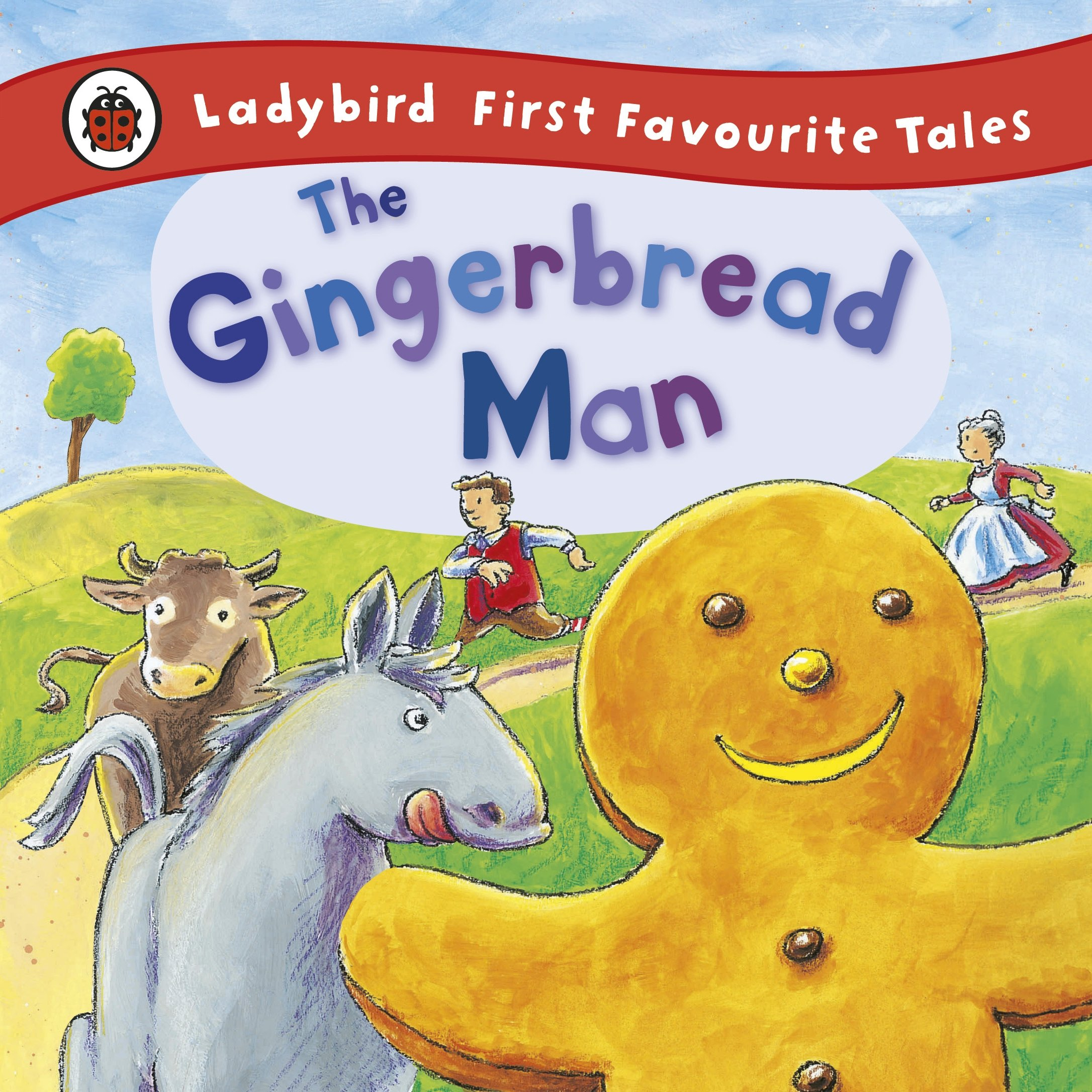 The Gingerbread Man: Ladybird First Favourite Tales: Amazon.co.uk ...