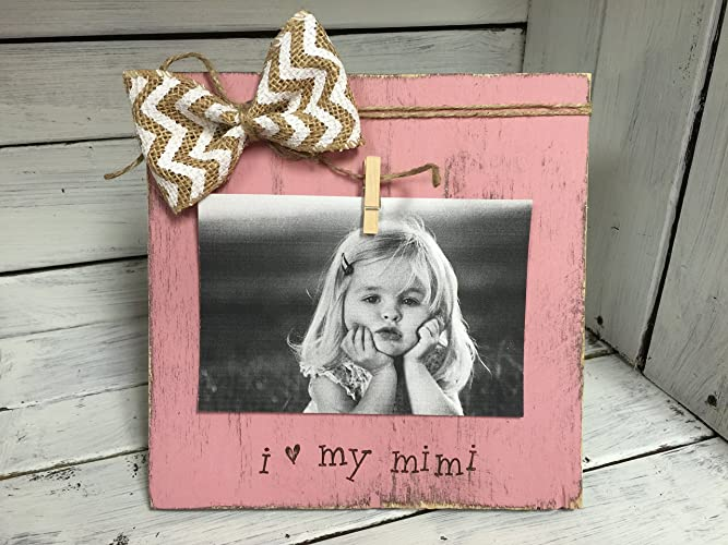 Amazon.com: Personalized Grandmother Picture Frame Board, I Love My ...
