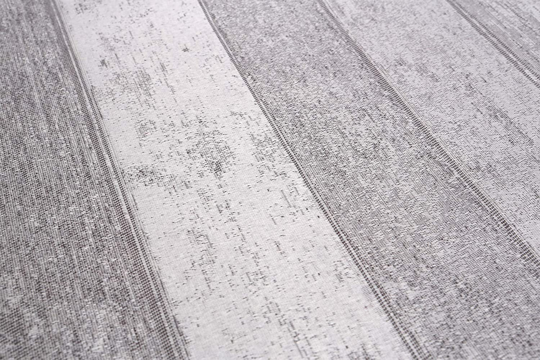 Beautex Jacquard Stoff Tischdecke mit Lotus Effekt abwischbar, Motiv Motiv Motiv und Größe wählbar, oval 140 x 260 cm, Linado Silbergrau B07J2MKSC8 Tischdecken beed87