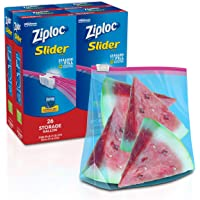 Deals on 104-Count Ziploc Slider Storage Bags w/New Power Shield Technology