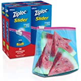 Ziploc Slider Storage Bags with New Power Shield Technology, For Food, Sandwich, Organization and More, Gallon, 26 Count…