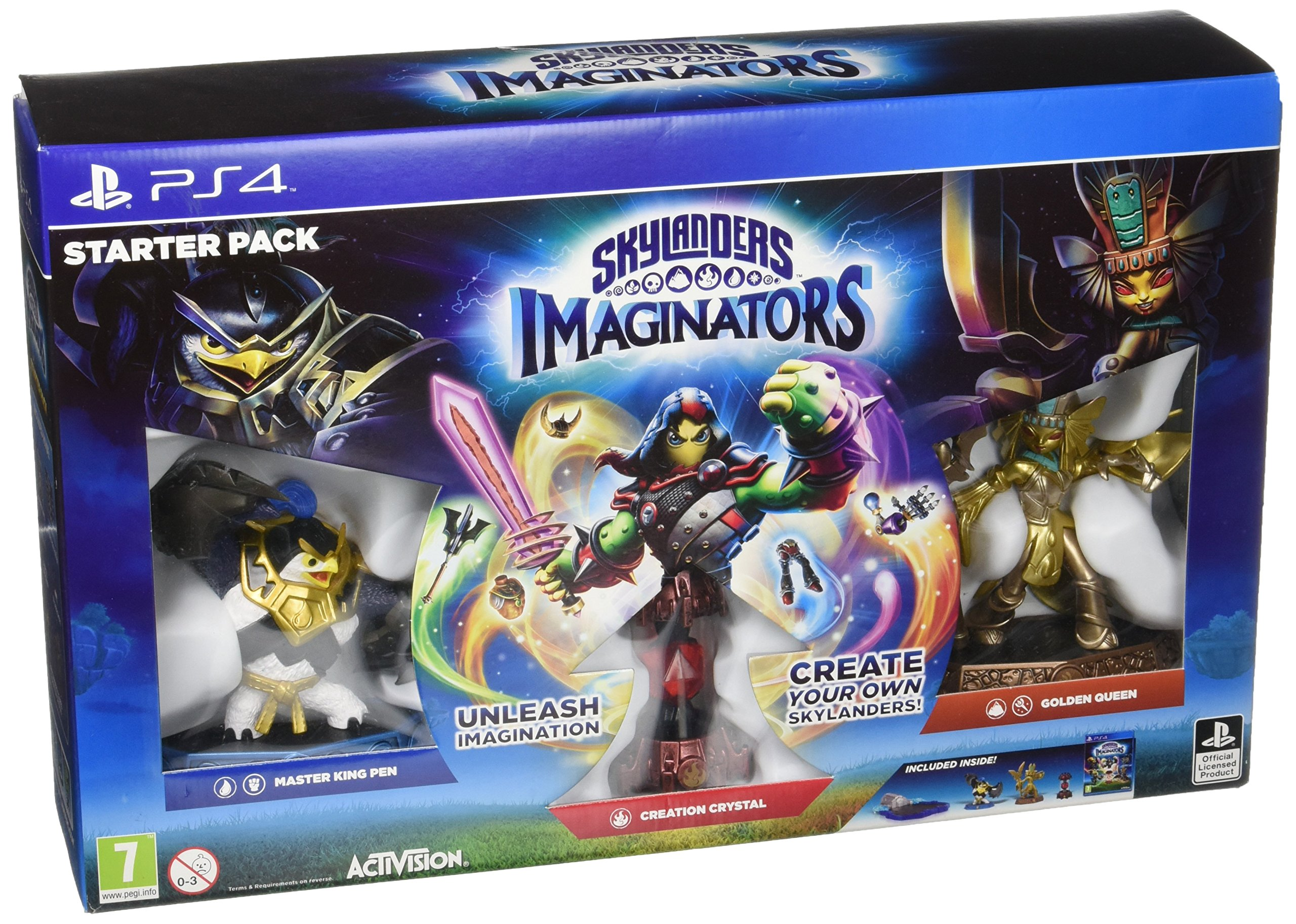Skylanders Imanginators Starter Pack PS4: Amazon.es: Libros en idiomas extranjeros