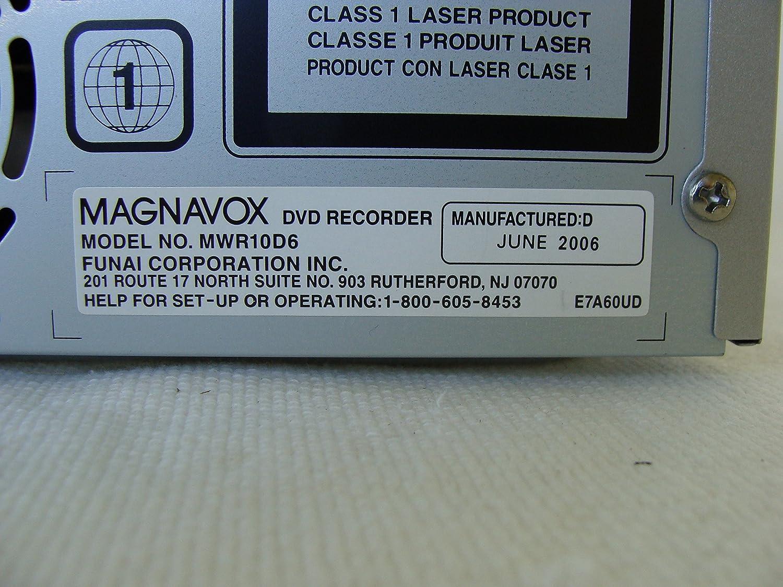 Amazon.com: Magnavox MWR10D6 DVD Recorder: Electronics