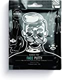 BARBER PRO FACE PUTTY black peel-off mask for men with activated charcoal (6 Applications / 3 Sachets)