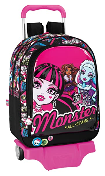 Monster High - Mochila con ruedas, 33 cm (Safta 611343160)