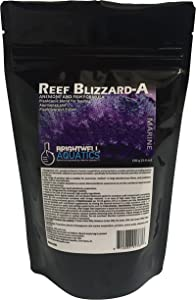 Brightwell Aquatics Reef Blizzard A - Powder Planktonic Food Blend for Anemones and Planktivorous Fishes