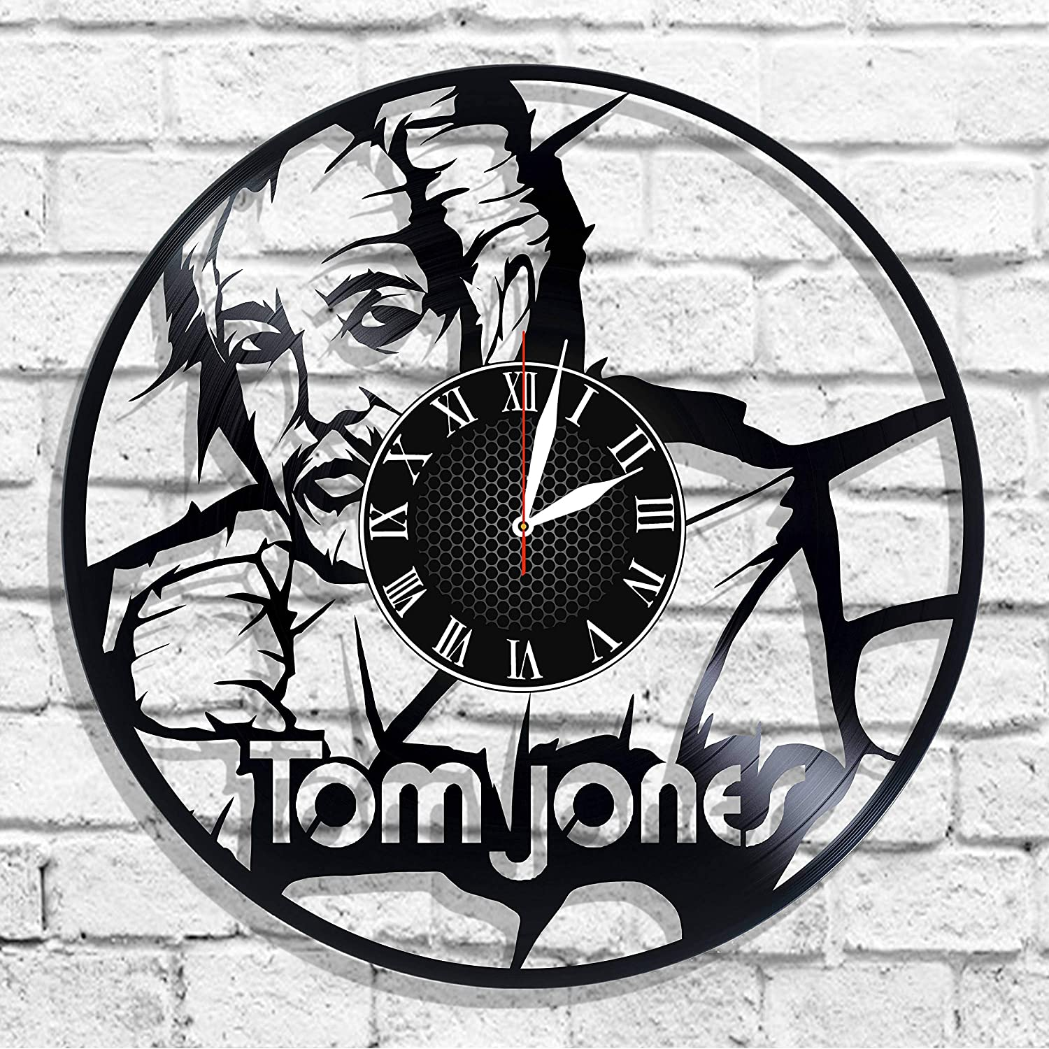 Amazon com: Tom Jones singer desing wall clock, Tom Jones