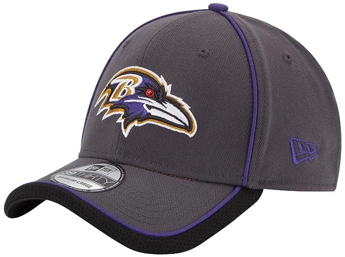wholesale dealer 8b1cc a3901 NFL Baltimore Ravens Graphite  Team 3930 Cap-SM