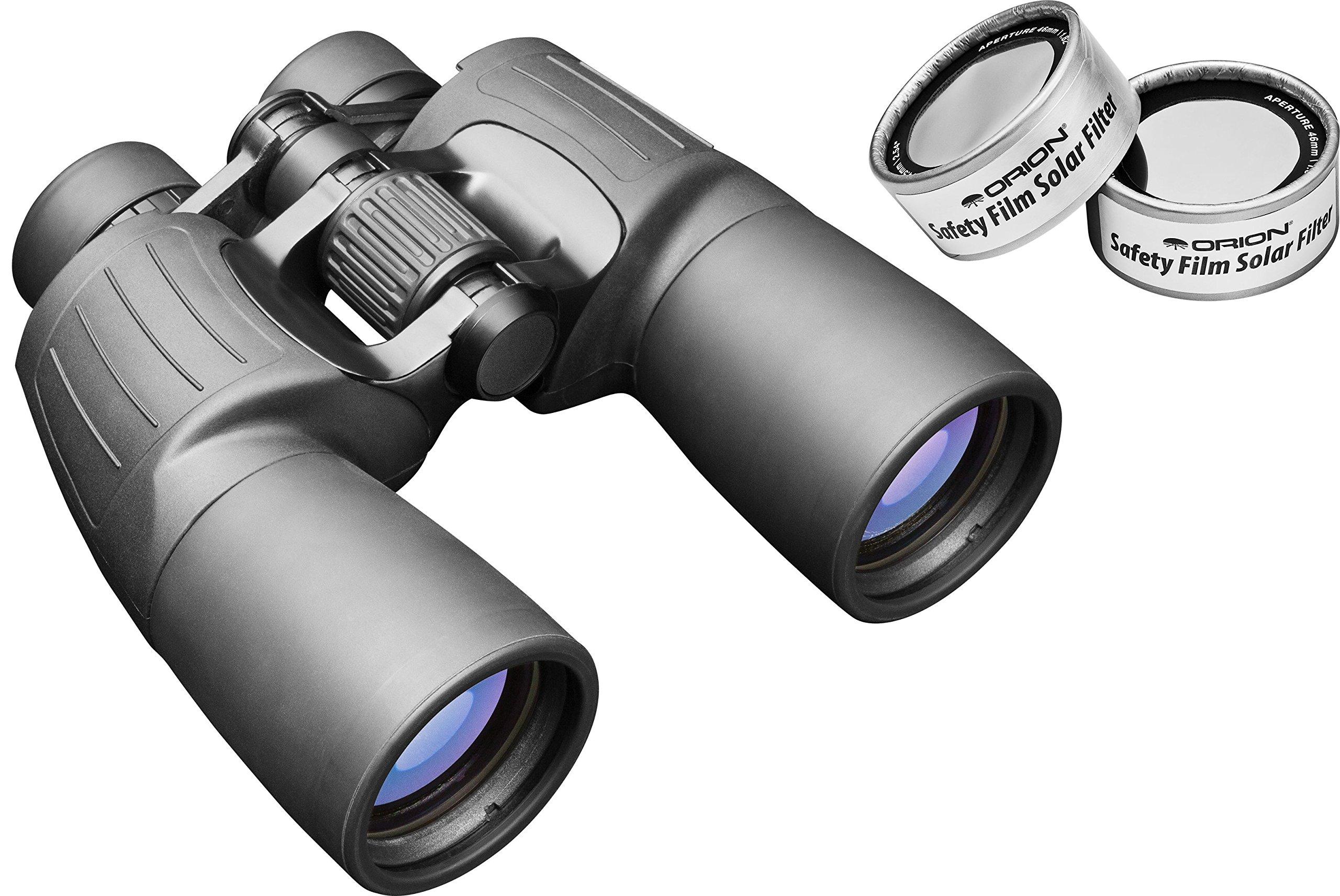 Orion 10x50 E-Series Waterproof Binocular Solar Kit by Orion