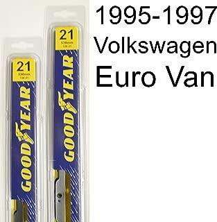 """product image for Volkswagen Euro Van (1995-1997) Wiper Blade Kit - Set Includes 21"""" (Driver Side), 21"""" (Passenger Side) (2 Blades Total)"""