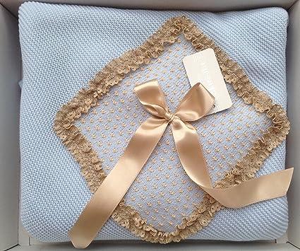 100% originale vestibilità classica cerca il più recente HC Enterprise, Scialle per neonato, colore: blu: Amazon.it ...