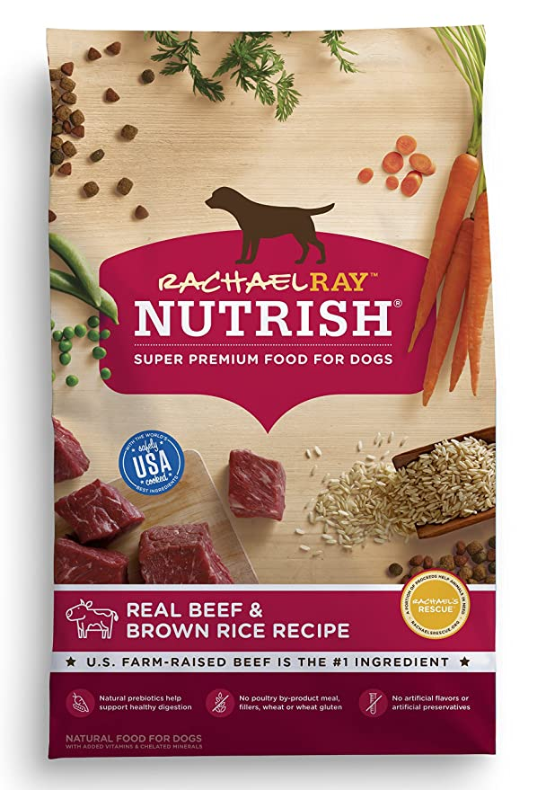 Amazon rachael ray nutrish natural dry dog food real beef amazon rachael ray nutrish natural dry dog food real beef brown rice recipe 14 lbs pet supplies forumfinder Choice Image