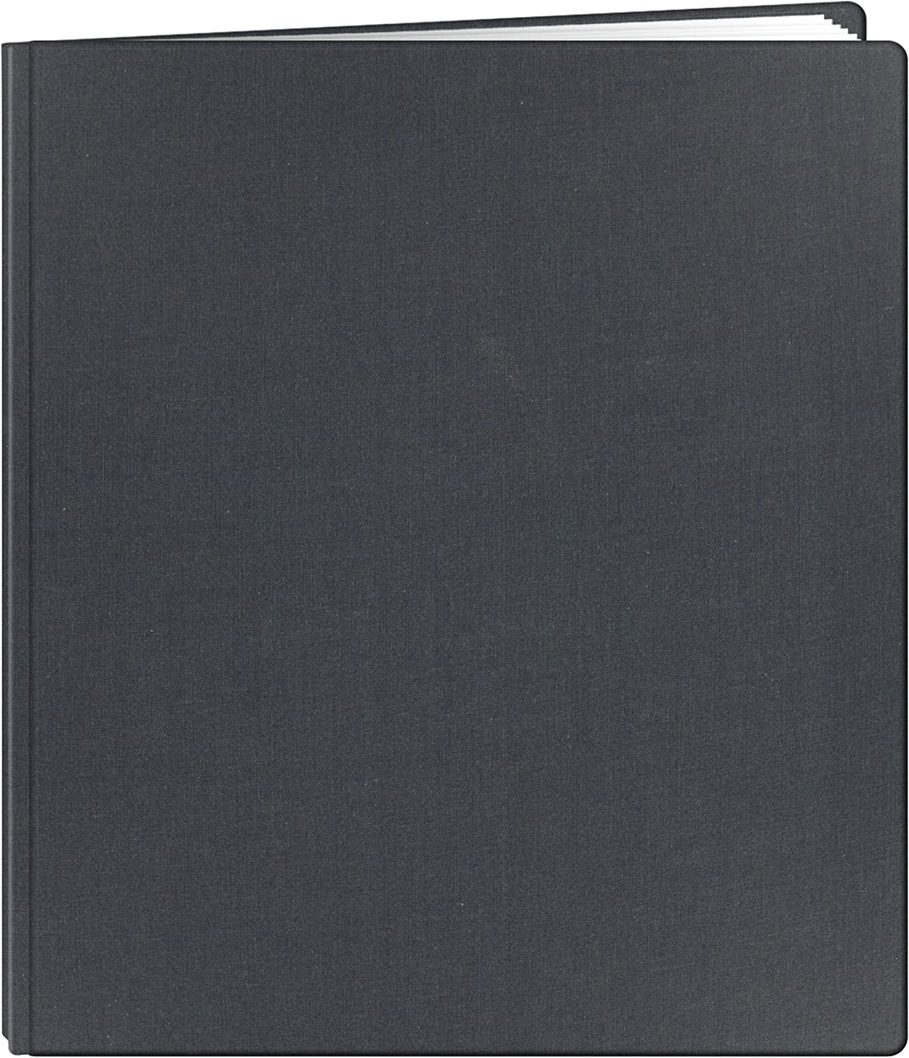 Black Pioneer FTM15BK Family Treasures Deluxe 12-by-15-Inch Memory Book with Fabric Cover