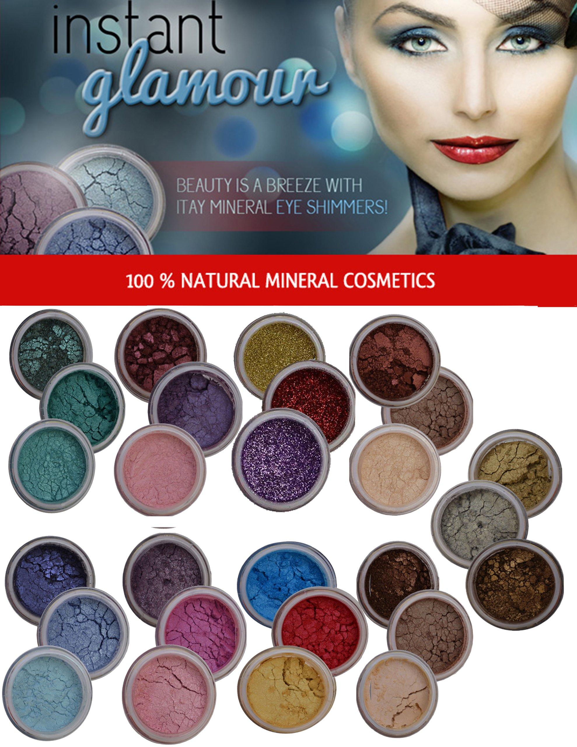 ITAY Beauty Mineral 9x3 Stacks Shimmer Eye Shadow Makeup 27 Natural Colors