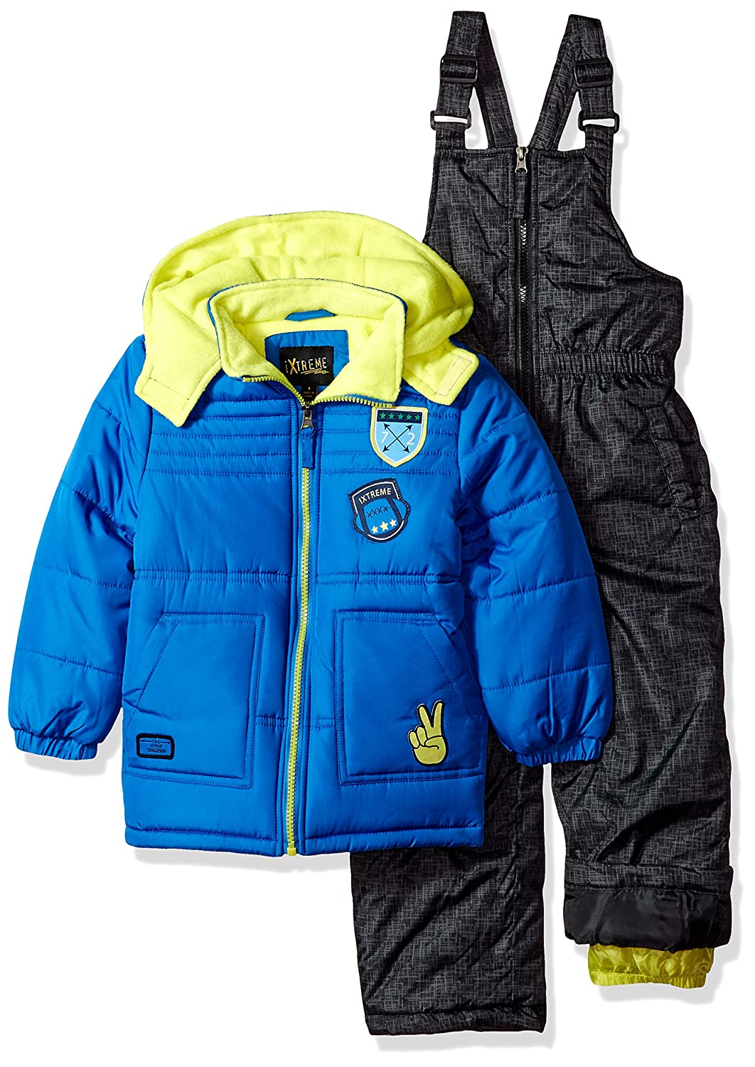 iXTREME Boys Quilted Snowsuit W/Patches 98455
