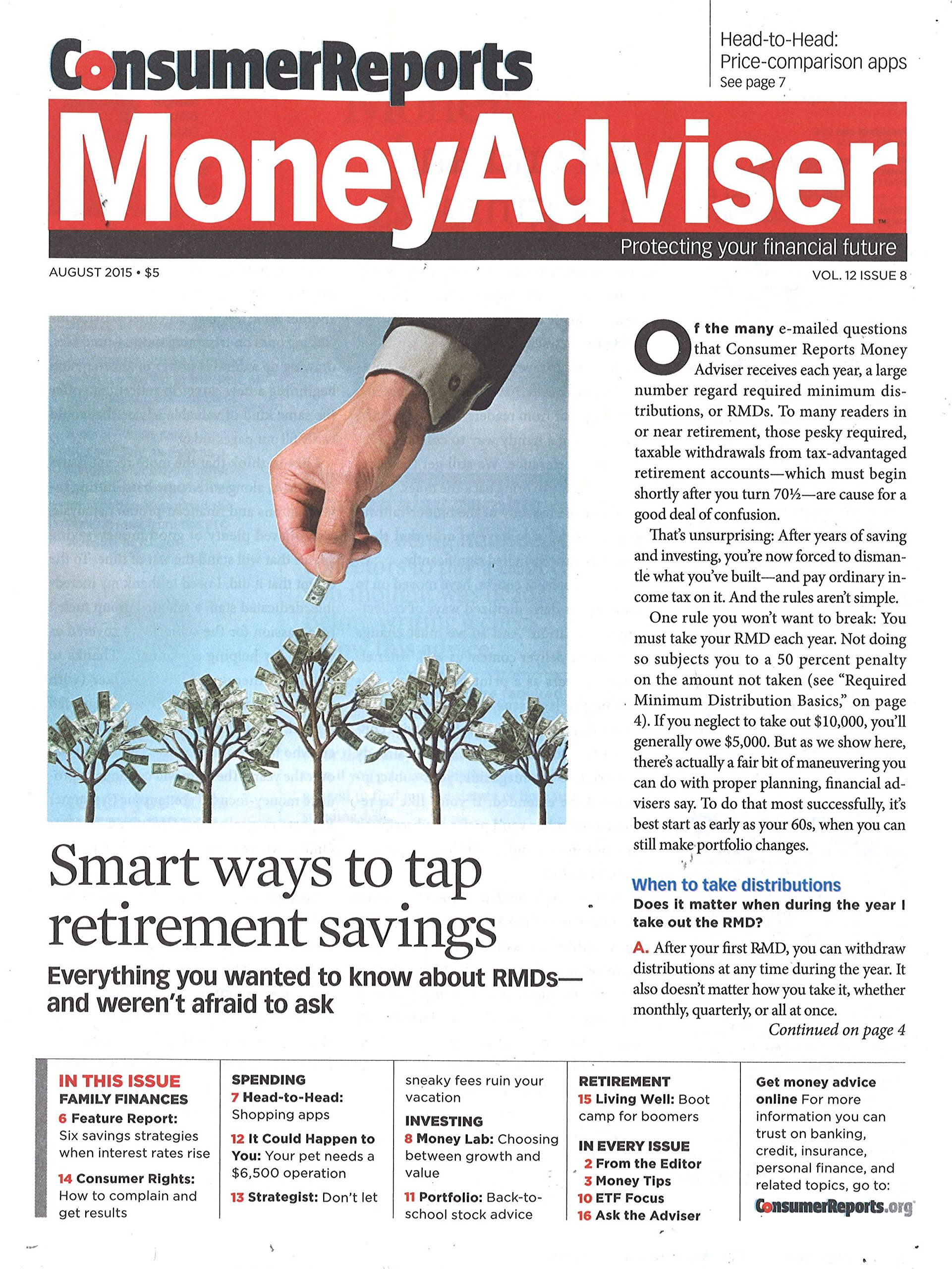 Consumer Reports Money Adviser