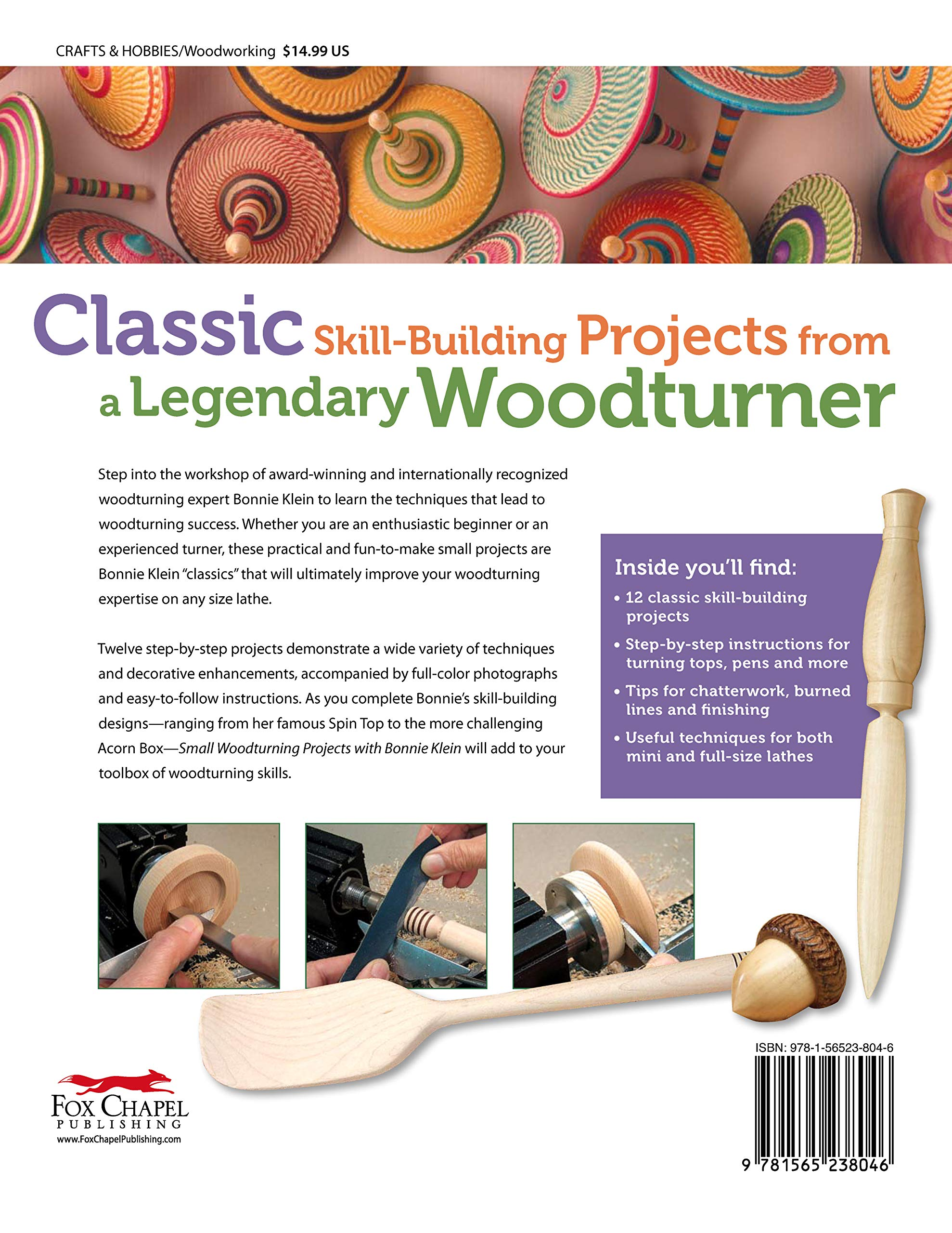 Small Woodturning Projects With Bonnie Klein 12 Skill Building