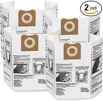 WS32200F Workshop Vac 12 /& 16 Gallon Paper Bags 2 Pk Part