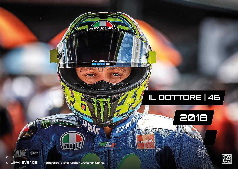 Il Dottore | 46 - Valentino Rossi - 2018 - Calendario - Din A3