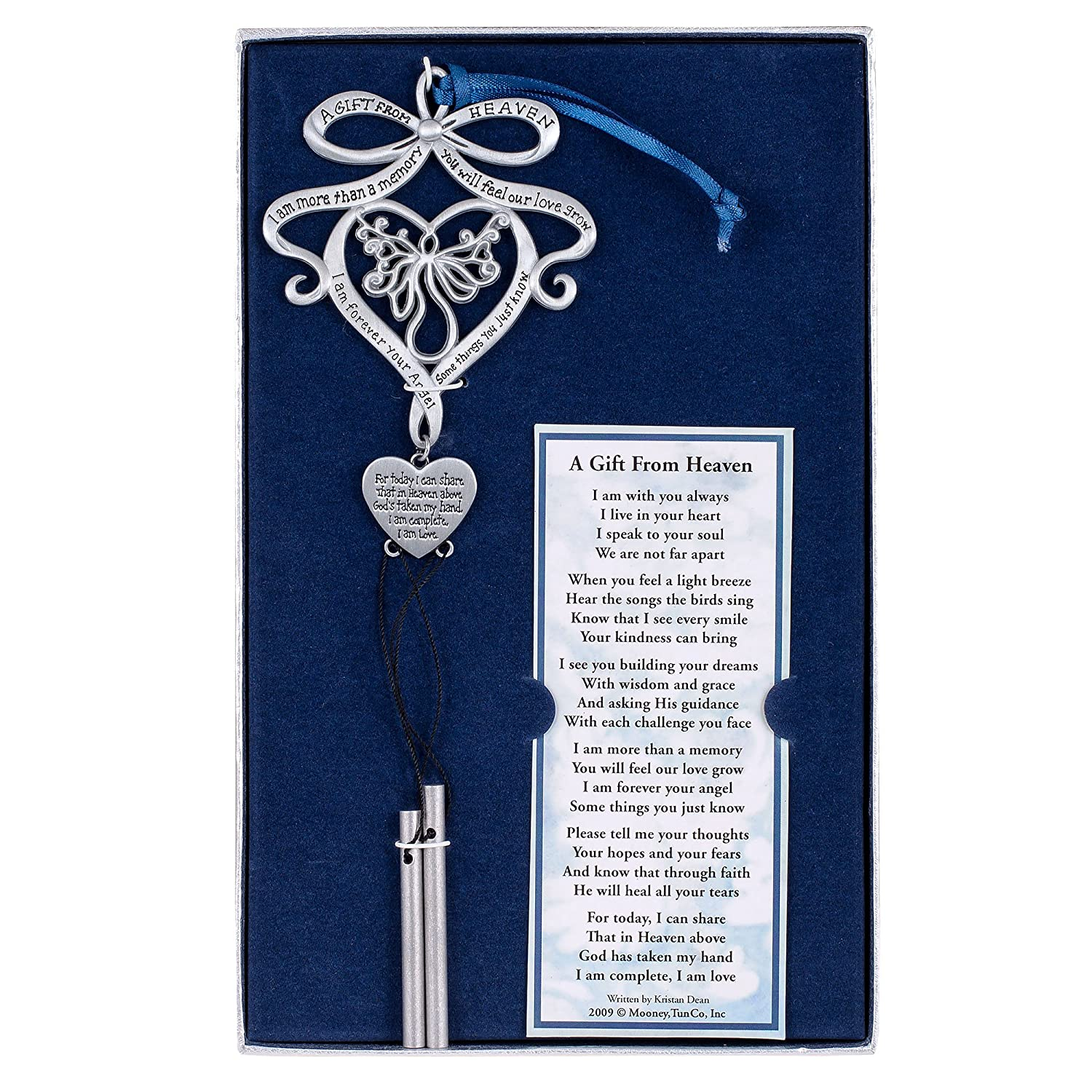 Mooney Tunco A Gift from Heaven Pewter Memorial Wind Chime MooneyTunCo Inc.