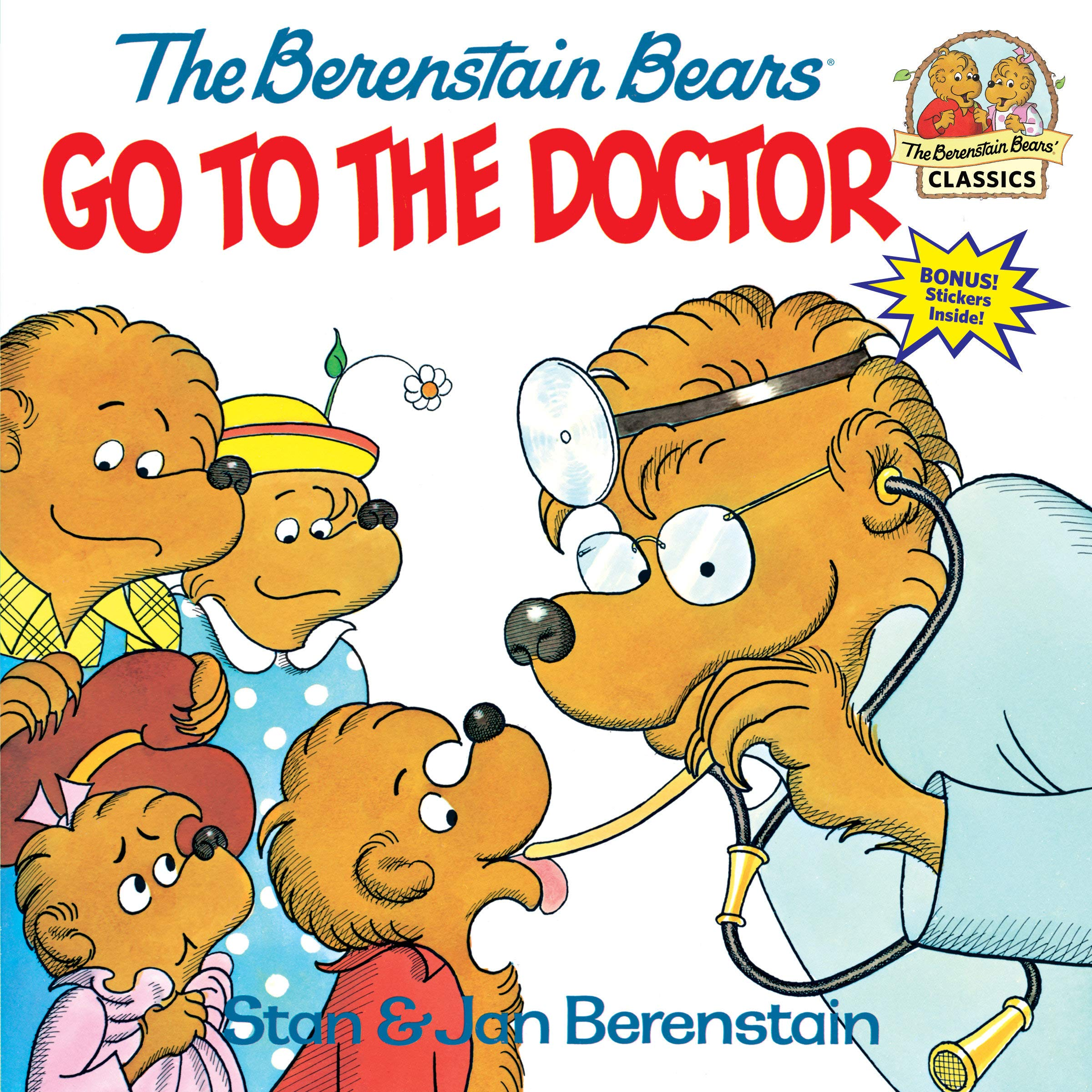 Image result for the berenstain bears go to the doctor