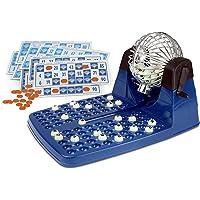 Chicos - Lotería automática, 48 cartones, color azul