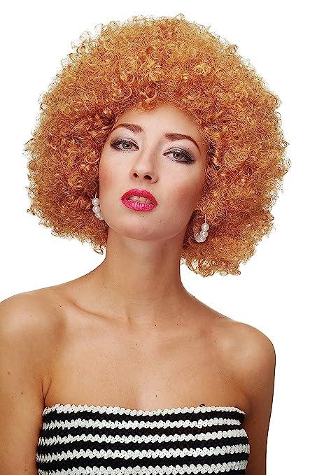 7 opinioni per WIG ME UP ®- Parrucca Afro Anni 70 Parrucca Party Funk Disco Foxy Colore Biondo