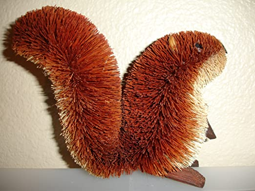 Red Buri Brush Squirrel by Brushart