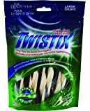Twistix 5.5-Ounce Original Dental Chew Treats for Dogs, Large, Vanilla Mint Flavor