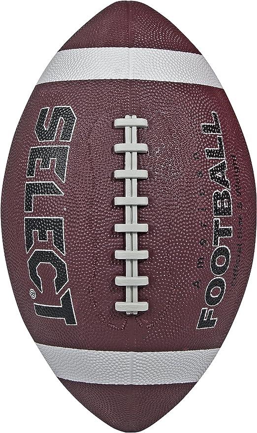Select American - Balón de Rugby, Color marrón: Amazon.es ...