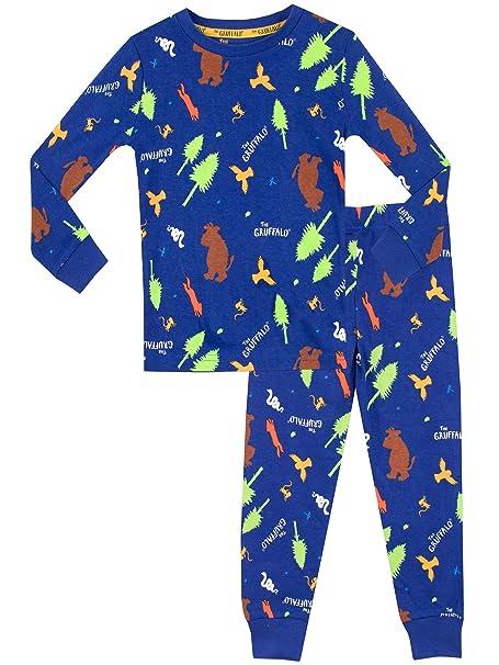 Gruffalo The Pijama para Niños Ajuste Ceñido: Amazon.es: Ropa y accesorios