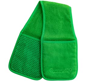 by CAMPANELLI Cooking Buddy Professional Grade All-in-One Pot Holder, Hand Towel, Lid Grip, Tool Caddy, and Trivet. Heat Resistant up to 500ºF. As Seen On Facebook (Forest Green)