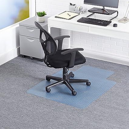 Office Chair Mat Floor Protection Transparent Polycarbonate Computer Desk Mat