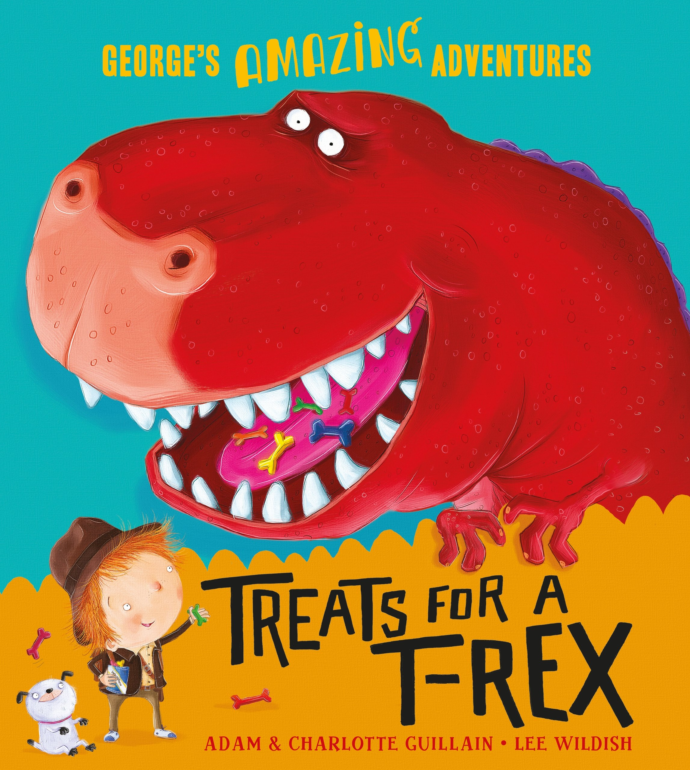 Treats for a T. Rex (George's Amazing Adventures, Band 6)
