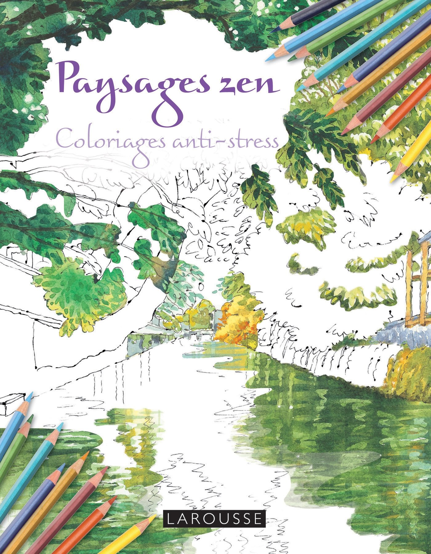 Download Paysages zen coloriages anti-stress (French Edition) ebook