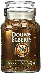 Douwe Egberts Pure Gold Instant Coffee, Medium Roast (Pack Of 2)