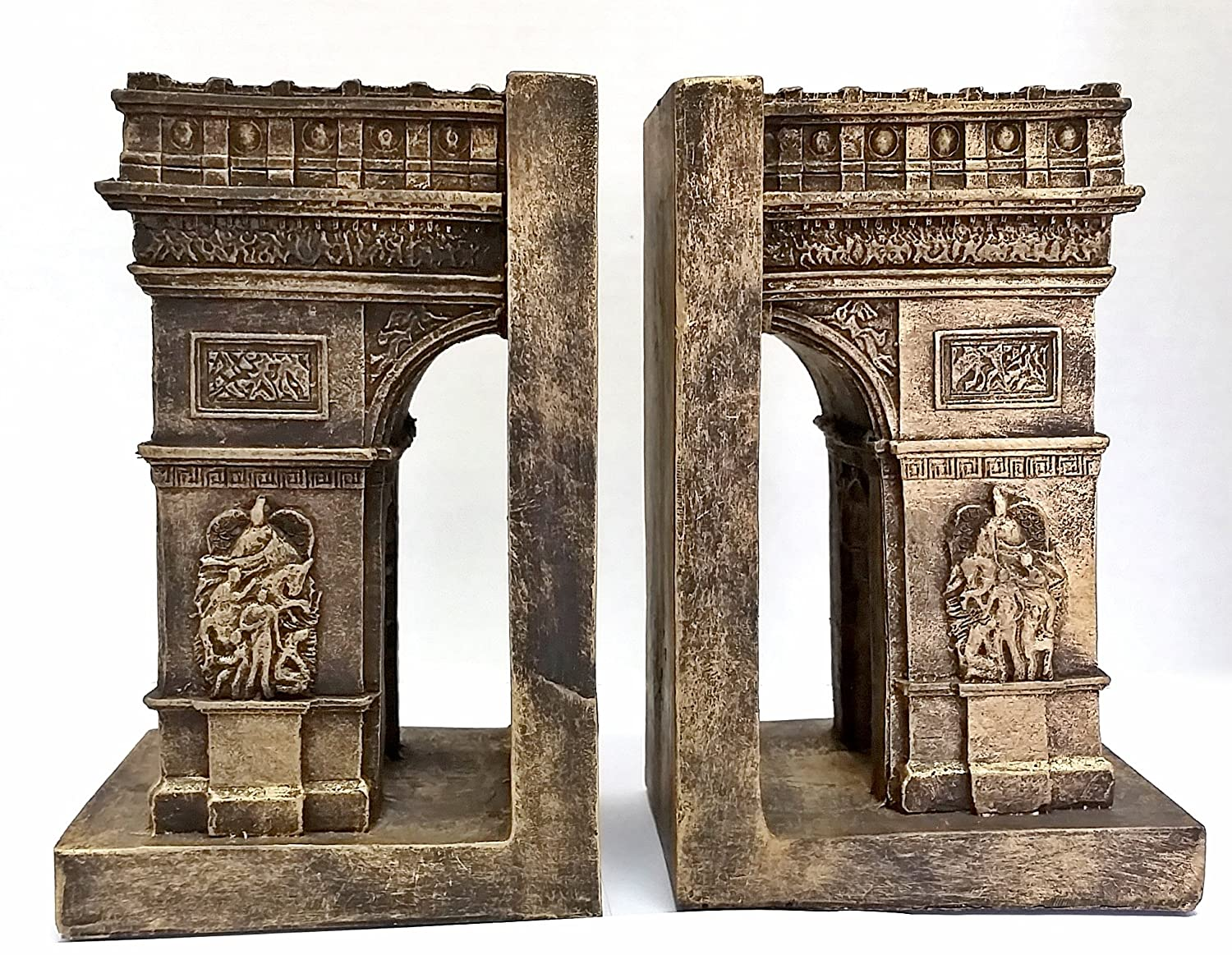 Bellaa Decorative Bookends Arc De Triomphe Paris Paris