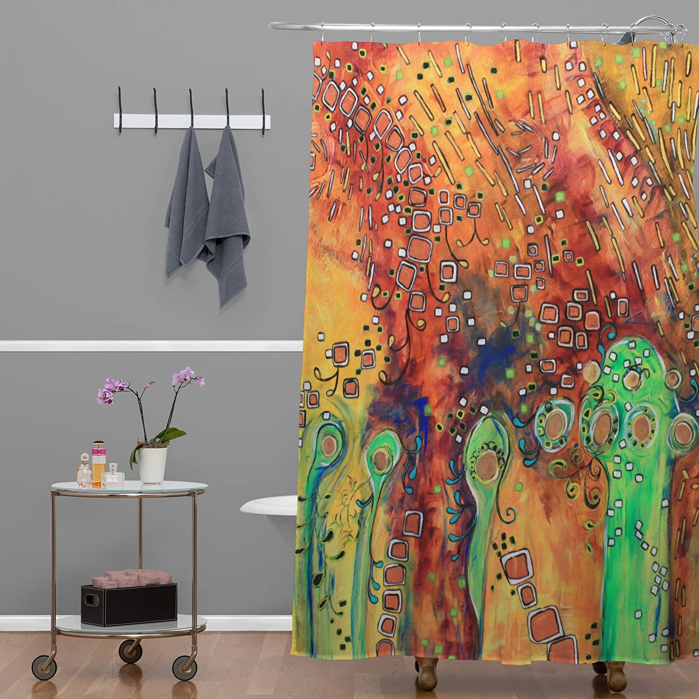 69 x 72 69 x 72 13394-shocur Deny Designs Ruby Door Serpents Shower Curtain