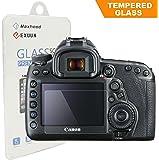 Maxhood ottico Canon 5d mark IV Protezione per lo schermo in vetro temperato, 9H Durezza Vetro Temperato 0,3mm fotocamera DSLR con tracolla protezione per schermo (5d mark IV)